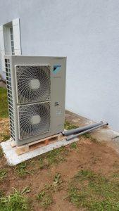 Groupe Exterieur pompe a chaleur haute temperature