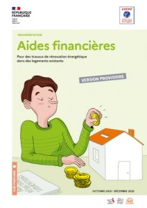 couverture Aides financières ADEME en résumé